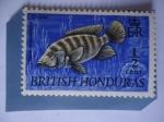 Sellos del Mundo : America : Honduras : Honduras - Honduras Británica(Bristis Honduras)Telapia Mozambique - Crana