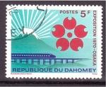 sellos de Africa - Benin -  EXPO'70