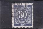 de Europa - Alemania -  cifra