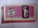 de Europa - Hungría -  Conferencia de los Ministros Postales de los Países Comunistas - Sirena y T.V Antena.