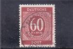 Stamps Germany -  cifra