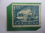 de Europa - Rumania -  Barcos en Puertos - Serie:Vida Cotidiana.