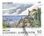 Sellos de Europa - Grecia -  paisaje
