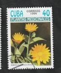 Stamps Cuba -  3361 - Plantas medicinales