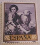 Sellos del Mundo : Europa : España : El buen pastor (Murillo)
