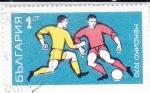 Sellos del Mundo : Europa : Bulgaria : futbol