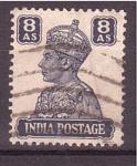 Stamps India -  George VI