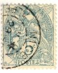 Stamps Europe - France -  Blanc (Republique Francaise)