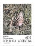 Sellos de America - Argentina -  aves