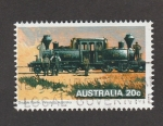 Stamps : Oceania : Australia :  Locomotora doble