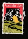 Stamps : Oceania : Australia :  Comunidad de beneficiencia san Vicente Paul