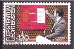 Stamps Liechtenstein -  serie- El múndo laboral