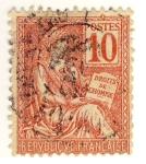 Sellos de Europa - Francia -  Mouchon