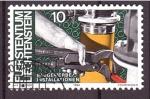 Stamps : Europe : Liechtenstein :  serie- El múndo laboral