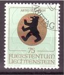 Sellos de Europa - Liechtenstein -  serie- Escudos religiosos