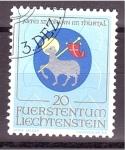 Stamps : Europe : Liechtenstein :  serie- Escudos religiosos