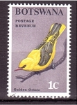 Stamps : Africa : Botswana :  serie- Aves