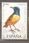 Stamps : Europe : Spain :  Roquero Rojo (17)