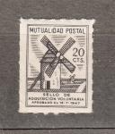 Stamps : Europe : Spain :  Mutualidad Postal (65)