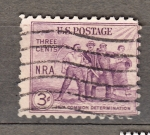 Stamps : America : United_States :  Obreros