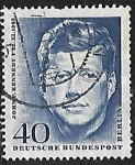 Stamps : Europe : Germany :  John F. Kennedy