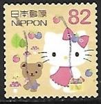 sello : Asia : Japón : Dibujos animados - HELLO KITTY