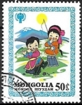 Stamps : Asia : Mongolia :  Unicef - dia internacional del niño 1979
