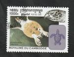 de Asia - Camboya -  1559 - Tortuga