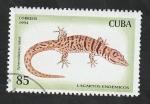 de America - Cuba -  3415 - Lagartos endémicos