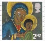 de Europa - Reino Unido -  La Virgen y el Niño