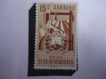 de America - Venezuela -  Estados Unidos de Venezuela- Escudo de Armas de Bolívar- Minería de Minerales Metálicos.