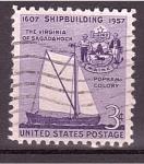 Stamps America - United States -  350 aniv. Construcción Naval Nacional