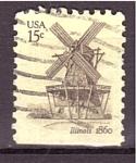 Stamps America - United States -  Molino de viento