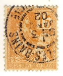 Stamps France -  Mouchon