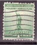 Stamps United States -  Defensa Nacional