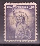 Sellos de America - Estados Unidos -  Libertad
