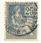 Stamps Europe - France -  Mouchon