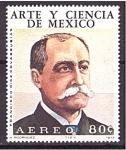 de America - México -  serie- Arte y ciencia de Mexico- astronomos