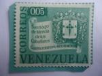 sellos de America - Venezuela -  Santiago de Mérida de los Caballeros - Cuatricentenario de su Fundación (1558-1958)