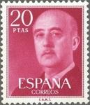 Stamps Europe - Spain -  2228 - General Franco