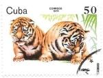 Stamps : America : Cuba :  cachorros