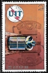 Stamps : Asia : North_Korea :  Centenario del telefono