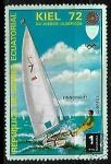 Stamps : Africa : Equatorial_Guinea :  Juegos olimpicos - vela