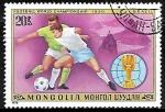 Sellos del Mundo : Asia : Mongolia :  Football World Cup 1978, Argentina