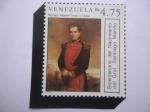 sellos de America - Venezuela -  Retrato del Pintor, Martín Tovar y Tovar - Y Bicentenario del Nacimiento del General:Santiago Mariño