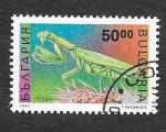 Stamps Bulgaria -  3717 - Mantis Religiosa