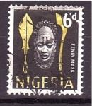 Sellos de Africa - Nigeria -  Serie- Iconos Nacionales