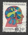 Stamps Czechoslovakia -  1528 - XX Aniversario de WHO