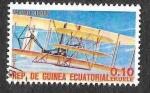 Stamps Equatorial Guinea -  Mi1599 - Avión