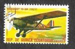 Sellos de Africa - Guinea Ecuatorial -  MiK1600 - Avión
